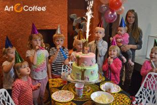 Dětská oslava v Art-n-Coffee