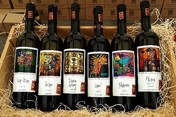 degustaci moravských vín vinařství Šalša