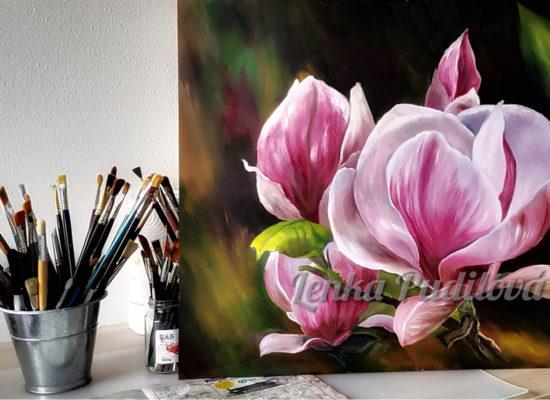 Výstava obrazů malířky Lenky Pudilové